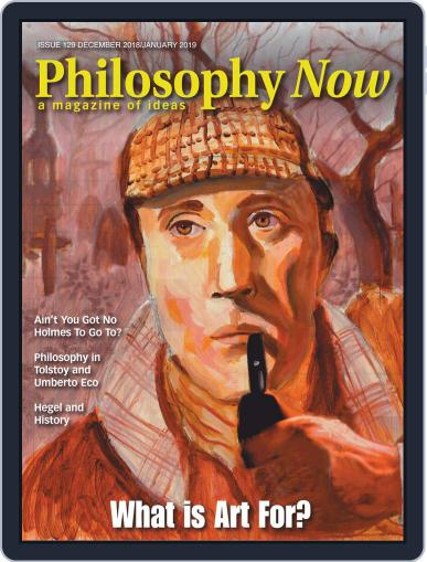 Philosophy Now December 1st, 2018 Digital Back Issue Cover