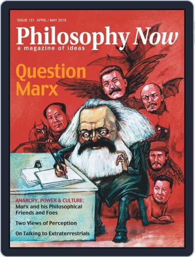Philosophy Now April 1st, 2019 Digital Back Issue Cover
