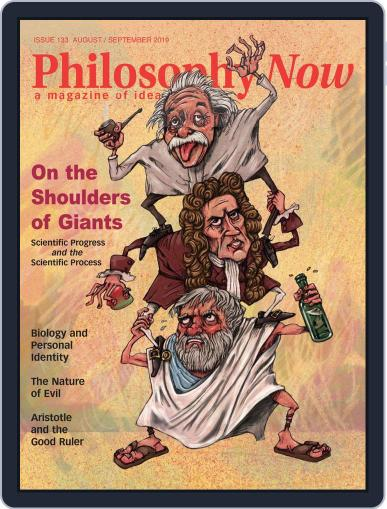 Philosophy Now August 1st, 2019 Digital Back Issue Cover