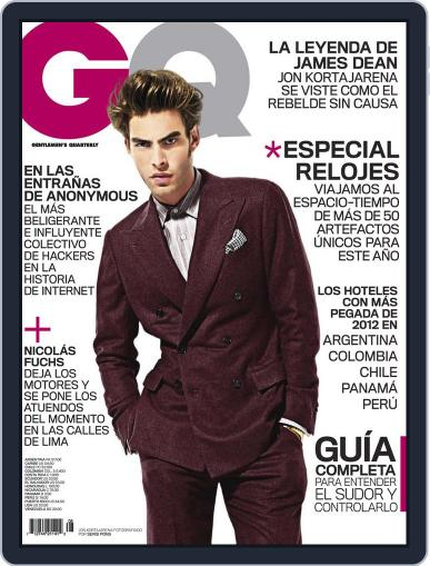Gq Latin America (Digital) August 31st, 2012 Issue Cover