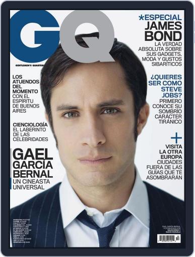 Gq Latin America (Digital) November 2nd, 2012 Issue Cover