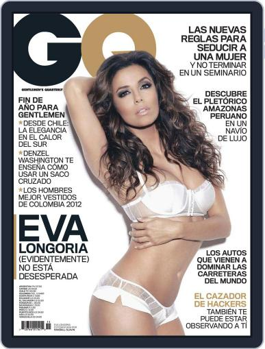 Gq Latin America (Digital) December 1st, 2012 Issue Cover