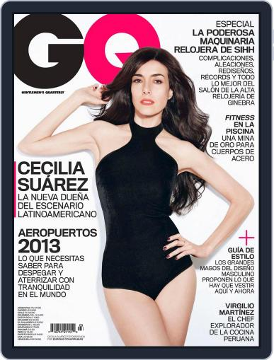 Gq Latin America (Digital) April 2nd, 2013 Issue Cover