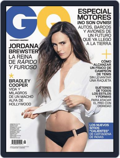 Gq Latin America (Digital) July 1st, 2013 Issue Cover
