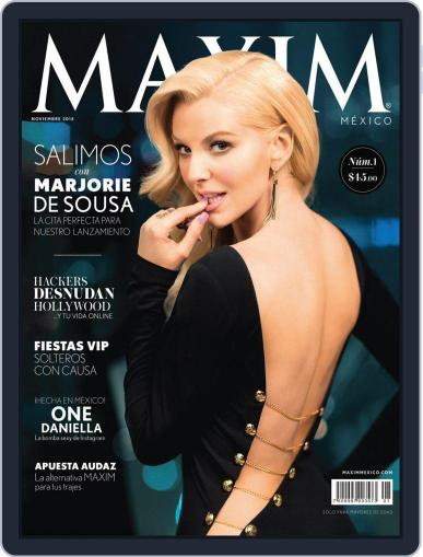 Maxim México (Digital) October 31st, 2014 Issue Cover