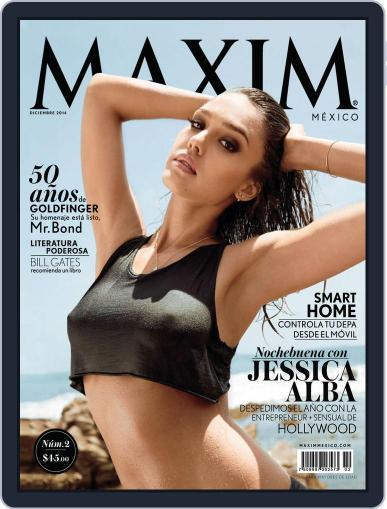 Maxim México (Digital) November 30th, 2014 Issue Cover