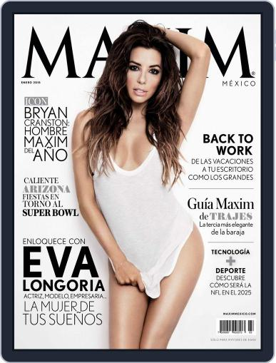 Maxim México (Digital) December 31st, 2014 Issue Cover