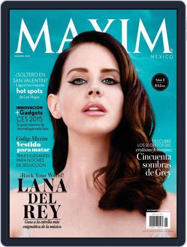 Maxim México (Digital) January 31st, 2015 Issue Cover