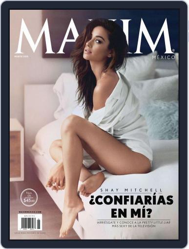Maxim México (Digital) March 9th, 2015 Issue Cover