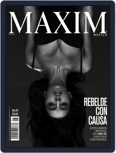 Maxim México (Digital) July 2nd, 2015 Issue Cover