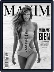 Maxim México (Digital) Subscription August 1st, 2015 Issue