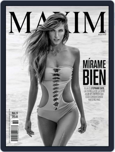 Maxim México (Digital) August 1st, 2015 Issue Cover