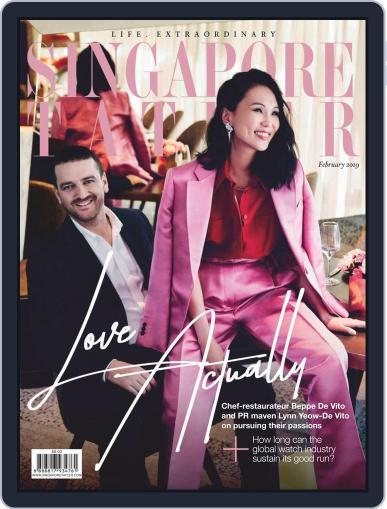 Singapore Tatler February 1st, 2019 Digital Back Issue Cover