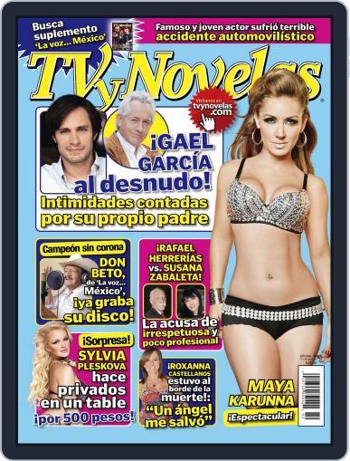Tvynovelas (Digital) October 18th, 2011 Issue Cover