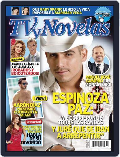 Tvynovelas (Digital) October 25th, 2011 Issue Cover
