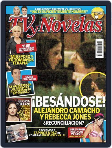 Tvynovelas (Digital) November 29th, 2011 Issue Cover