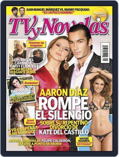 Tvynovelas (Digital) December 6th, 2011 Issue Cover