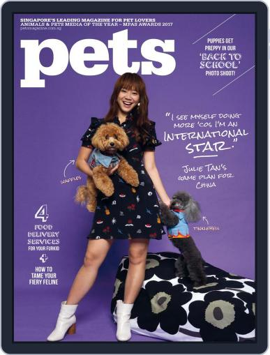 Pets Singapore October 1st, 2017 Digital Back Issue Cover