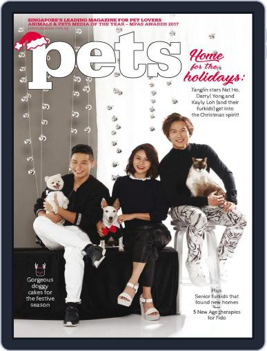 Pets Singapore December 1st, 2017 Digital Back Issue Cover