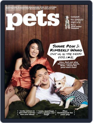 Pets Singapore February 1st, 2018 Digital Back Issue Cover