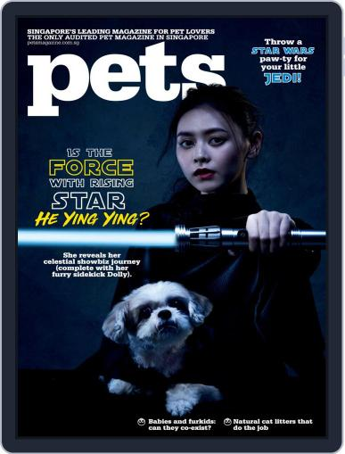 Pets Singapore April 1st, 2018 Digital Back Issue Cover