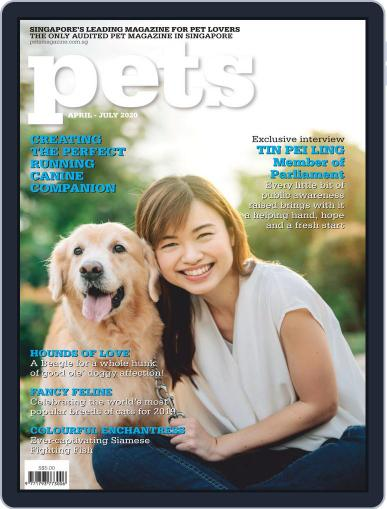 Pets Singapore April 1st, 2020 Digital Back Issue Cover