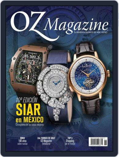 OZ October 1st, 2016 Digital Back Issue Cover