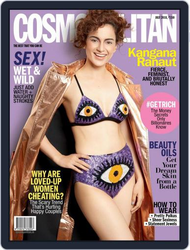 Cosmopolitan India (Digital) July 1st, 2018 Issue Cover