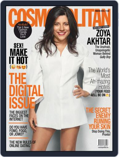 Cosmopolitan India (Digital) March 1st, 2019 Issue Cover