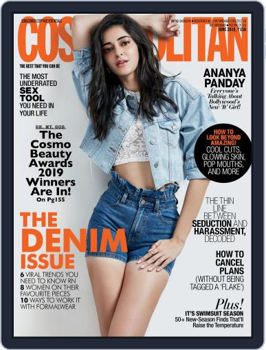 Cosmopolitan India (Digital) June 1st, 2019 Issue Cover