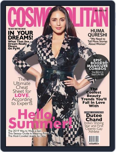 Cosmopolitan India (Digital) July 1st, 2019 Issue Cover