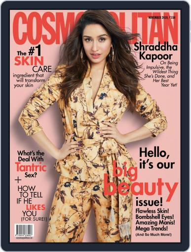 Cosmopolitan India (Digital) November 1st, 2019 Issue Cover