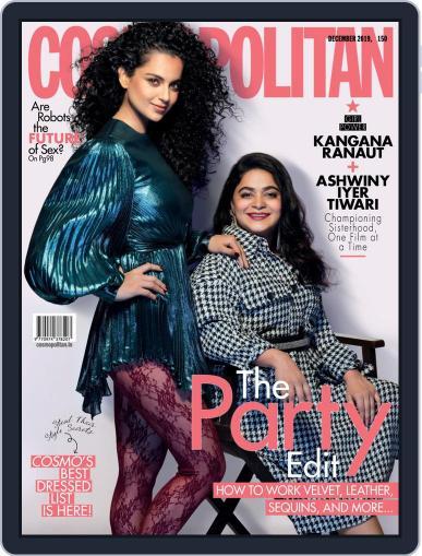 Cosmopolitan India (Digital) December 1st, 2019 Issue Cover
