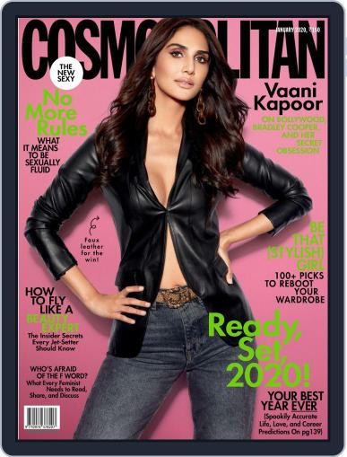 Cosmopolitan India (Digital) January 1st, 2020 Issue Cover