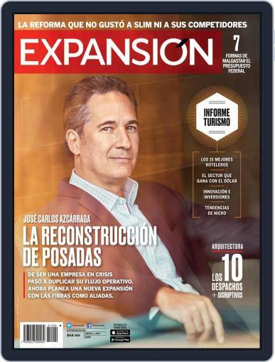 Expansión (Digital) April 1st, 2017 Issue Cover