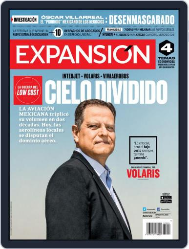 Expansión (Digital) March 1st, 2018 Issue Cover
