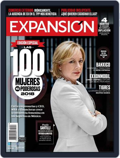 Expansión (Digital) March 15th, 2018 Issue Cover