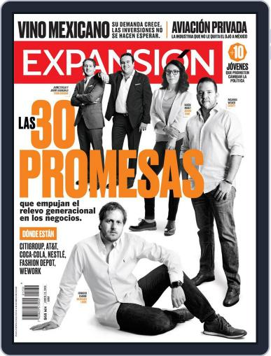 Expansión (Digital) April 15th, 2018 Issue Cover