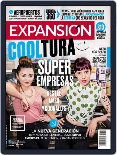 Expansión (Digital) May 15th, 2018 Issue Cover