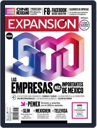 Expansión (Digital) June 15th, 2018 Issue Cover