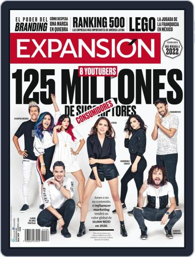 Expansión (Digital) August 1st, 2018 Issue Cover