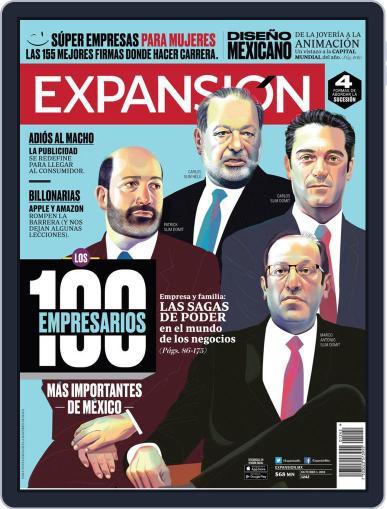 Expansión (Digital) October 1st, 2018 Issue Cover