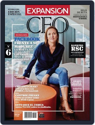 Expansión (Digital) October 15th, 2018 Issue Cover