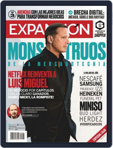Expansión (Digital) November 15th, 2018 Issue Cover
