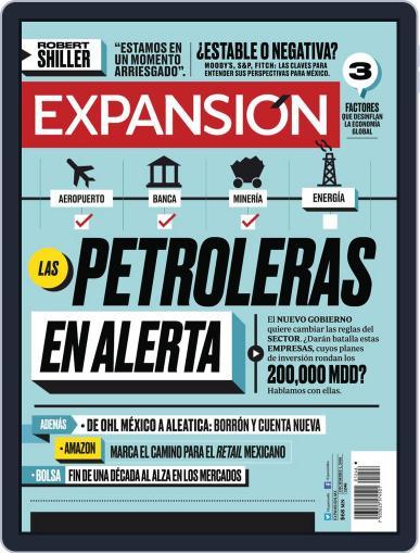 Expansión (Digital) December 1st, 2018 Issue Cover