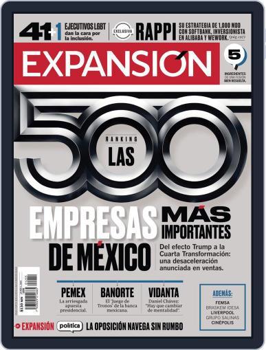 Expansión (Digital) June 1st, 2019 Issue Cover