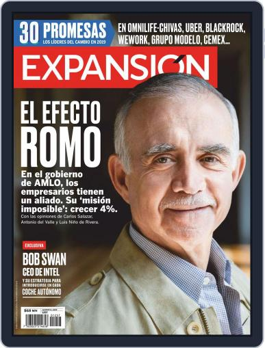 Expansión (Digital) August 1st, 2019 Issue Cover