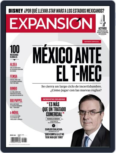 Expansión (Digital) January 1st, 2020 Issue Cover