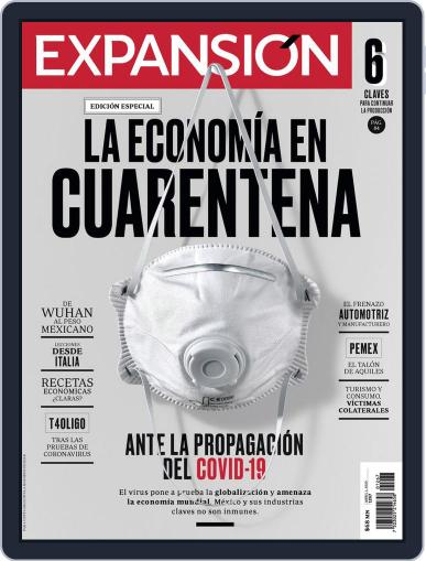 Expansión (Digital) April 1st, 2020 Issue Cover