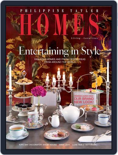 Philippine Tatler Homes (Digital) June 12th, 2015 Issue Cover